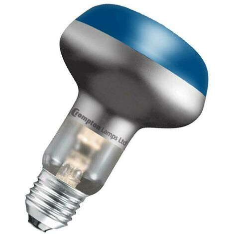 Crompton Lamps 60W R80 Reflector E27 Dimmable Blue 35°