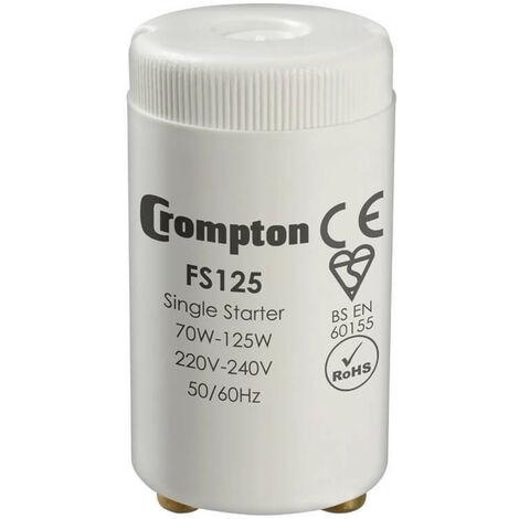 Crompton Lamps Fluorescent Starter 125W