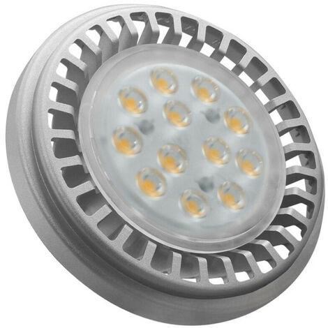 Crompton Lamps LED AR111 12.5W G53 12V (100W Eqv) 3000K Warm White 30° 920lm Crompton Lamps LED 12V AR111 G53 Spotlight Downlight Light Bulb