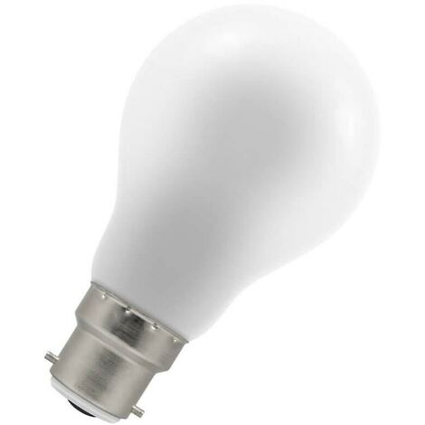 Crompton Lamps LED GLS 1.5W BC-B22d IP65 White A60 Frosted Light Bulb