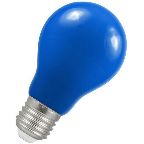 Crompton Lamps LED GLS 1.5W ES-E27 IP65 Blue A60 Outdoor Festoon Coloured External Light Bulb