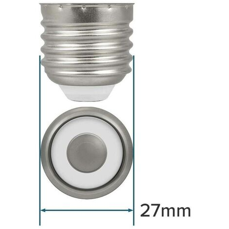 Crompton Lamps LED GLS 7.5W E27 Dimmable Filament (10 Pack) Warm White Pearl (60W Eqv)