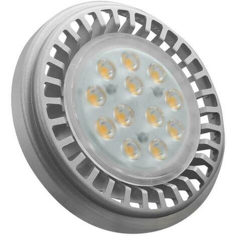 Crompton Lamps LED GU10 AR111 12.5W GU10 (100W Eqv) 3000K Warm White 30° 990lm Crompton Lamps LED GU10 AR111 Spotlight Downlight Light Bulb