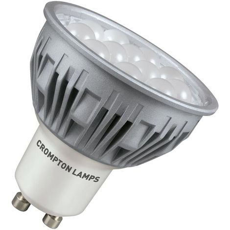 Crompton Lamps LED GU10 Spotlight 5W Dimmable Cool White 50°