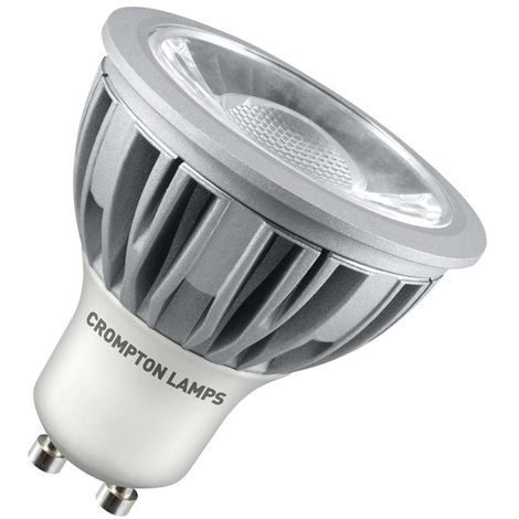 Crompton Lamps LED GU10 Spotlight 5W Dimmable Warm White 45°