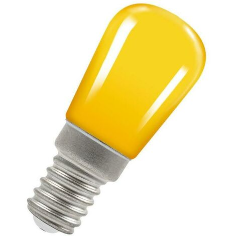 Crompton Lamps LED Pygmy 1.3W E14 Coloured IP65 Yellow
