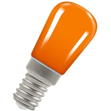 Crompton Lamps LED Pygmy 1.3W SES-E14 Coloured IP65 Amber Sign Festoon Outdoor Light Bulb