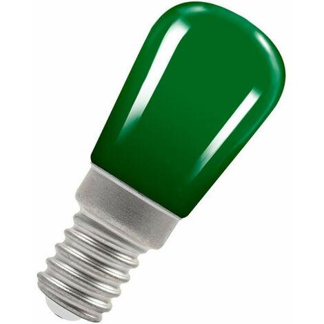 Crompton Lamps LED Pygmy 1.3W SES-E14 Coloured IP65 Green Sign Festoon Outdoor Light Bulb