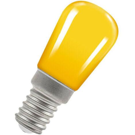 Crompton Lamps LED Pygmy 1.3W SES-E14 Coloured IP65 Yellow Sign Festoon Outdoor Light Bulb