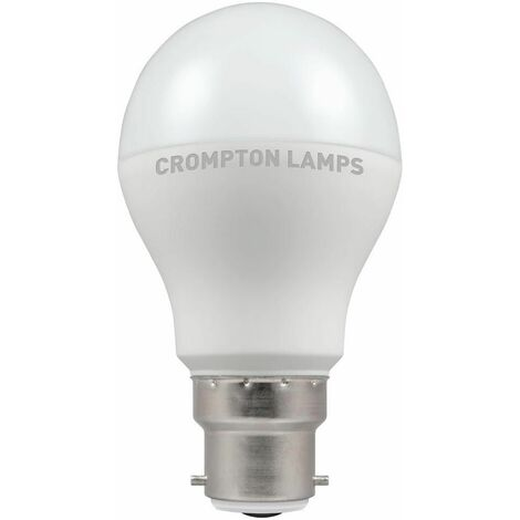 Crompton LED GLS BC B22 Thermal Plastic Dusk till Dawn 9.5W - Warm White
