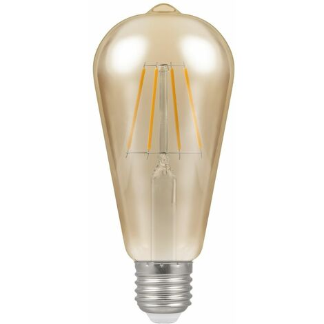 Crompton LED ST64 ES E27 Filament Antique 5W Dimmable - Extra Warm White