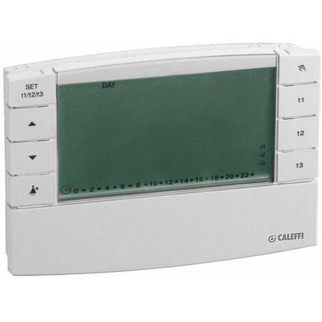 Cronotermostato ambiente digital CALEFFI 738 (voltaje: 230 V + GSM)
