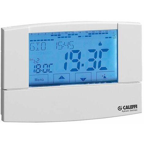 Cronotermostato ambiente digital caleffi 738307 | wöchentlich