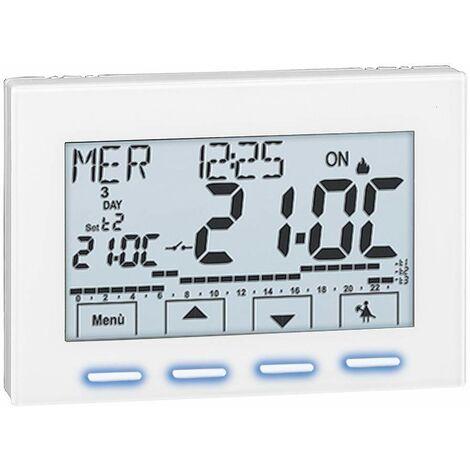 Cronotermostato ambiente digital Caleffi 738427 | 230V
