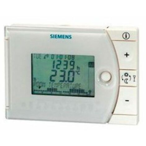 Cronotermostato digital diario REV13 de Siemens