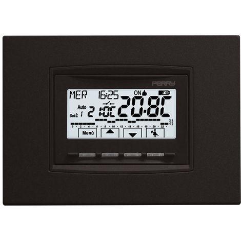 Cronotermostato incorporado con baterías Perry 1CRCDS28