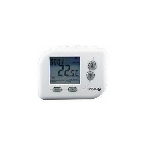 Cronotermostato para calefaccion y Aire Acondicionado Koban KT11-LCD-P 0769011