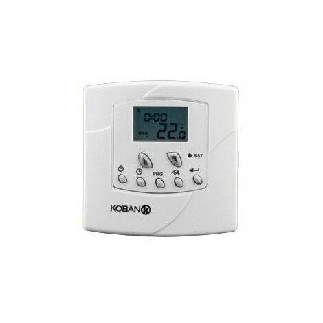 Cronotermostato para calefaccion,aire acondicionado Koban KT5-LCD-P 0769005