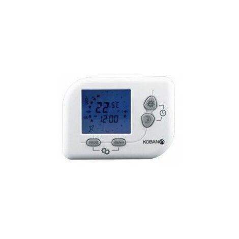Cronotermostato para calefaccion,aire acondicionado Koban KT9-LCD-P 0769009