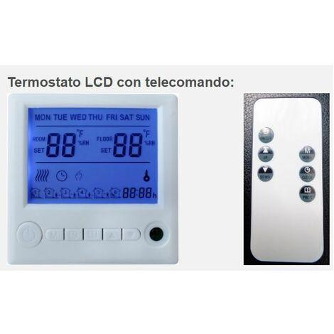 Smart Home TERMOSTATO NUOVO riscaldamento a infrarossi Re casa riscaldamento a infrarossi P 130w