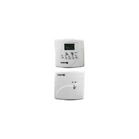 Cronotermostato wireless para calefaccion,aire acondicionado Koban KT13-W-RF 0769013