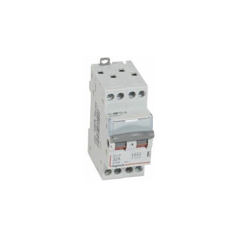 Interrupteur sectionneur Tétrapolaire 32A  DX-IS 4P  400V   2M - 406479 - Legrand