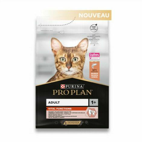 Croquettes pour chats Pro Plan Adulte Saumon et Riz Sac 1,5 kg