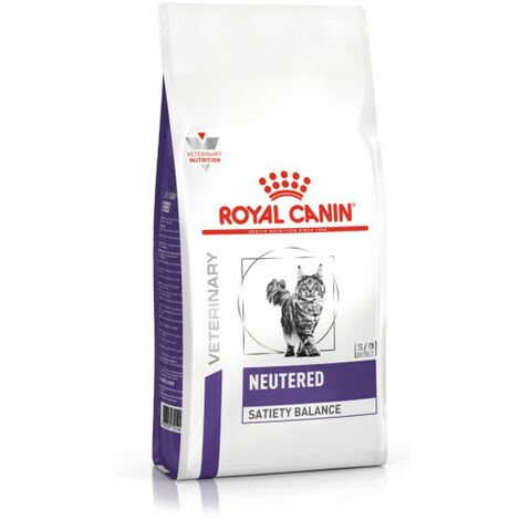 Croquettes Royal Canin Neutered Satiety Balance pour chat Sac 8 kg