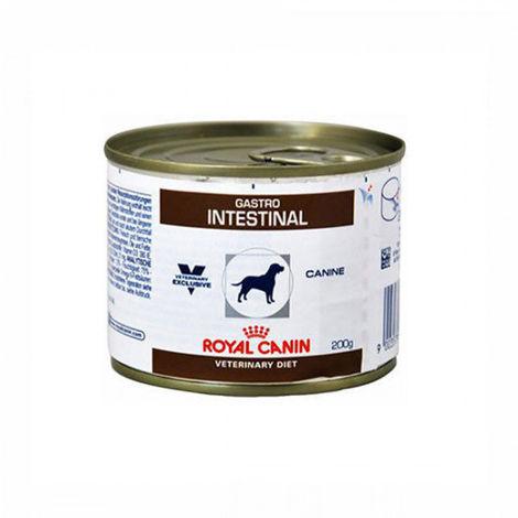 Croquettes Royal Canin Veterinary Diet Gastro Intestinal pour chiens 12 Boîtes de 200 g