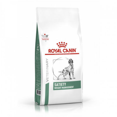 Croquettes Royal Canin Veterinary Diet Satiety Weight Management pour chiens Sac 1,5 kg
