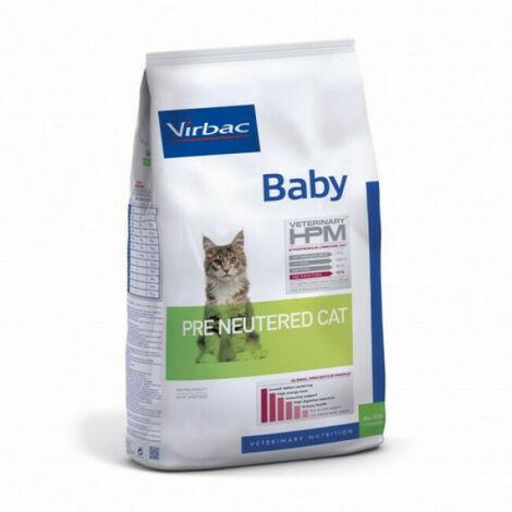 Croquettes Virbac HPM Baby Pre Neutered pour chat Sac 1,5 kg