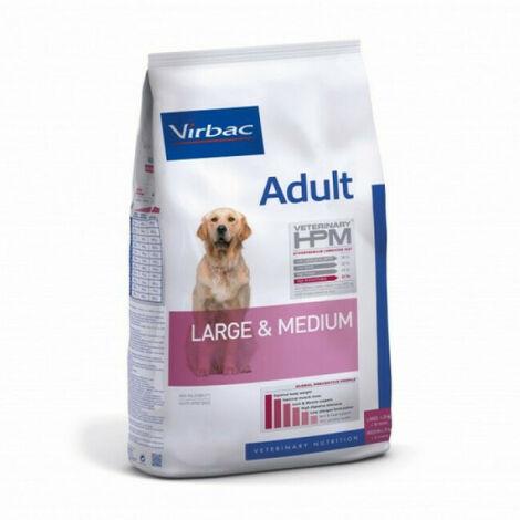 Croquettes Virbac Veterinary HPM Adult Large & Medium Sac 12 kg