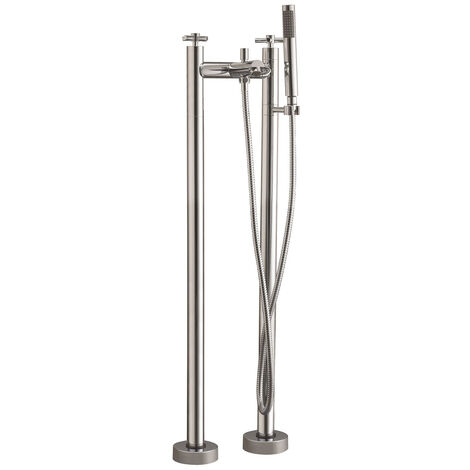Cross Freestanding Bath Shower Mixer Tap