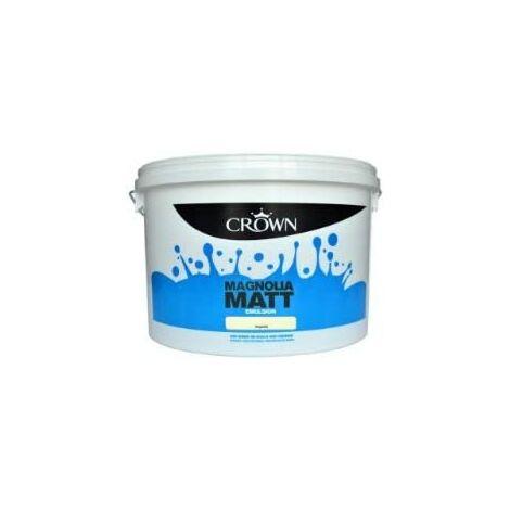 Crown 10L - Standard Matt Emulsion - Magnolia