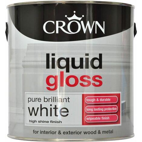 Crown 2.5L - Liquid Gloss Pure Brilliant White