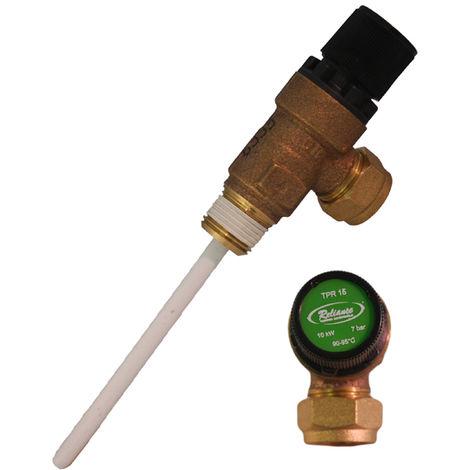 Crown - 7 Bar Temperature & Pressure Relief Valve