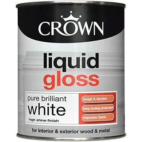 Crown 750ml - Liquid Gloss Pure Brilliant White