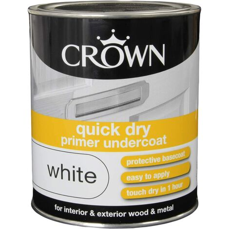Crown 750ml - Retail Qucik Dry Undercoat White