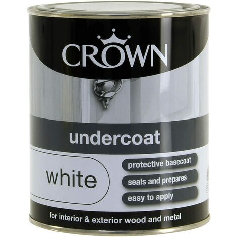 Crown 750ml - Retail Undercoat Pure Brilliant White