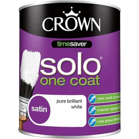 Crown 750ml - Solo Satin Pure Brilliant White
