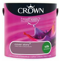 Crown Cover Story 2.5L Silk Emulsion