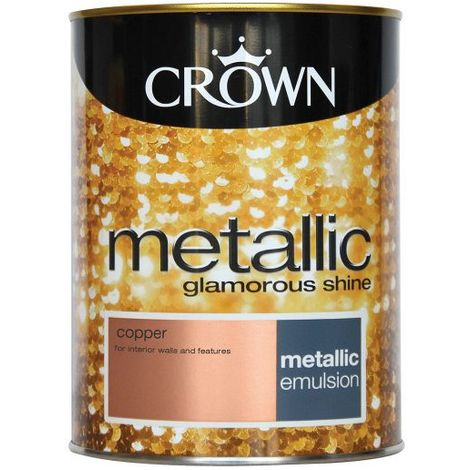 Crown Feature Wall Copper Metallic 1.25L