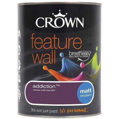 Crown Feature Wall Matt - Addiction - 1.25L