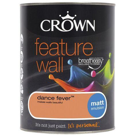 Crown Feature Wall Matt - Dance Fever - 1.25L