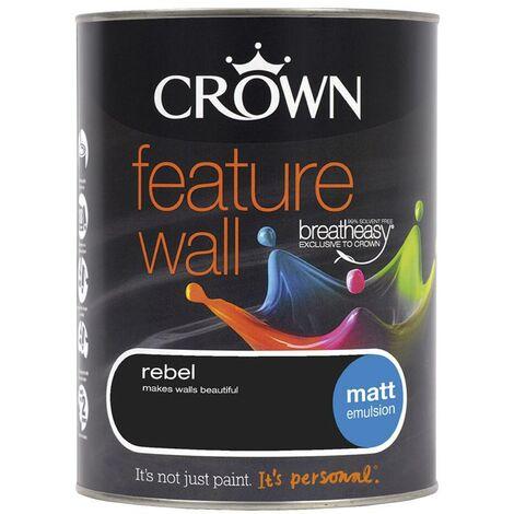Crown Feature Wall Matt - Rebel - 1.25L