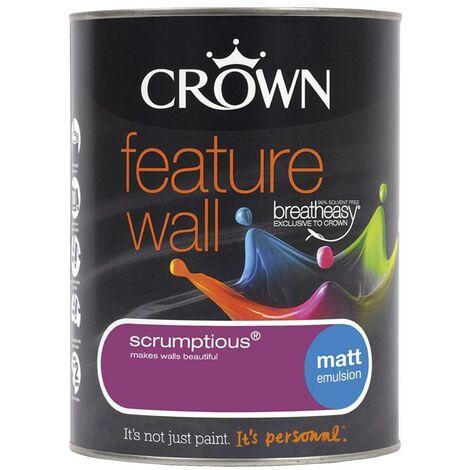 Crown Feature Wall Matt - Scrumptious - 1.25L