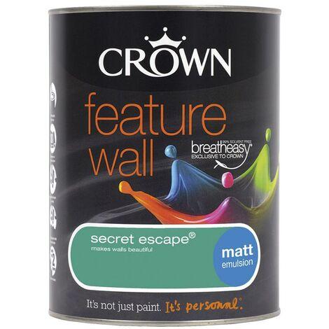 Crown Feature Wall Matt - Secret Escape - 1.25L