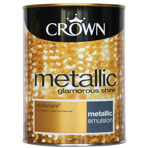 Crown Feature Wall Millionaire Metallic 1 25l