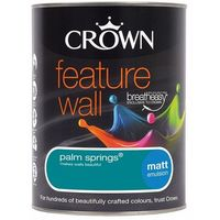 Crown Feature Wall Palm Springs 1.25L Matt Emulsion