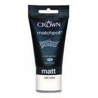 Crown Kitchen & Bathroom Milk White 40ml Tester